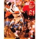 "Joe Kapp Autographed ""Vs Chiefs"" Minnesota Vikings 8"" x 10"" Lithograph"