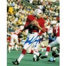 """Joe Kapp Autographed """"Vs Cardinals"""" New England Patriots 8"""" x 10"""" Photo"""