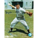 "George Kell Autographed ""Throwing"" Detroit Tigers 8"" x 10"" Photo"