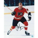 "Bob Kelly Philadelphia Flyers Autographed 8"" x 10"" Photograph Inscribed with ""Hound!"" (Unframed)"