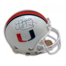 Jim Kelly Autographed Miami Hurricanes Pro Line Full Size Football Helmet by