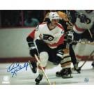 "Orest Kindrachuk Philadelphia Flyers Autographed 8"" x 10"" Photograph (Unframed)"
