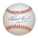 "Ralph Kiner Autographed MLB Baseball Inscribed with ""HOF 75"""