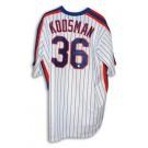 Jerry Koosman Autographed New York Mets White Pinstripe Majestic Throwback Jersey