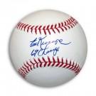 "Ed Kranepool Autographed MLB Baseball Inscribed ""69 Champs"""