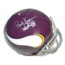 Paul Krause Autographed Minnesota Vikings Throwback Pro Line Full Size Football Helmet... by