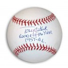 """Tony Kubek Autographed MLB Baseball Inscribed """"Rookie of the Year 1957-AL"""""""