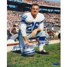 "Yale Lary Detroit Lions Autographed 8"" x 10"" Photograph Inscribed ""HOF 79"" (Unframed)"