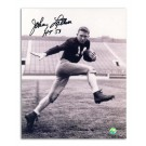 "Johnny Lattner Autographed Notre Dame Fighting Irish 8"" x 10"" Photograph with ""HT 53"" Inscription (Unframed)"