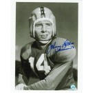 "Johnny Lattner Autographed ""BW Pose"" Notre Dame Fighting Irish 8"" x 10"" Photo Inscribed ""Heisman 53"""