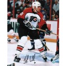 "John LeClair Autographed ""In Front of the Net"" Philadelphia Flyers 8"" x 10"" Photo"