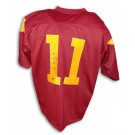 Matt Leinart Autographed USC Trojans Red Jersey by