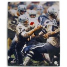 "Bob Lilly Autographed Dallas Cowboys 16"" x 20"" Photograph Inscribed with ""HOF 80"" (Unframed)"