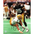 """Greg Lloyd Pittsburgh Steelers Autographed 8"""" x 10"""" Photograph (Unframed)"""