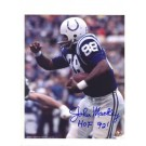 "John Mackey Baltimore Colts Autographed 8"" x 10"" Photograph Inscribed with ""HOF 92!"" (Unframed)"