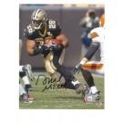 "Deuce McAllister Autographed Running vs. the Cleveland Browns 8"" x 10"" Photograph (Unframed)"