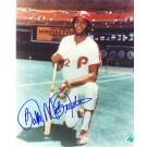 "Bake McBride Autographed Philadelphia Phillies 8"" x 10"" Photograph (Unframed)"