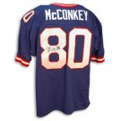 "Phil McConkey Autographed New York Giants Blue Throwback Jersey Inscribed with ""SB XXI"""
