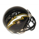 Natrone Means Autographed San Diego Chargers Mini Football Helmet