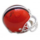 Eric Metcalf Autographed Cleveland Browns Pro Line Full Size Football Helmet by
