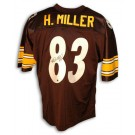 Heath Miller Autographed Pittsburgh Steelers Black Throwback Jersey by