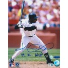 "Kevin Mitchell San Francisco Giants Autographed 8"" x 10"" Photograph Inscribed with ""89 NL MVP"" (Unframed)"