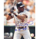 "Kevin Mitchell Autographed San Francisco Giants 8"" x 10"" Photograph Inscribed with ""89 NL MVP"" (Unframed)"