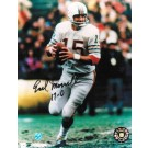 "Earl Morrall Miami Dolphins Autographed 8"" x 10"" Unframed Photograph Inscribed with ""17-0"""