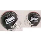 Joe Morris Autographed New York Giants Mini Helmet