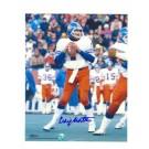 """Craig Morton Denver Broncos Autographed 8"""" x 10"""" White Jersey Photograph (Unframed)"""