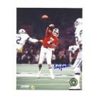 """Craig Morton Denver Broncos Autographed 8"""" x 10"""" Photograph with """"7"""" Inscription (Unframed)"""