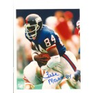 "Zeke Mowatt New York Giants Autographed 8"" x 10"" Photograph Inscribed with ""84"" (Unframed)"