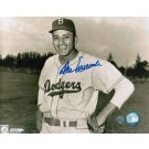"Don Newcombe Brooklyn Dodgers Autographed Horizontal 8"" x 10"" Unframed Photograph"