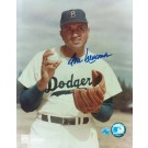 "Don Newcombe Brooklyn Dodgers Autographed Pose 8"" x 10"" Unframed Photograph"