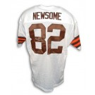 "Ozzie Newsome Autographed Custom Throwback Football Jersey with ""HOF 99""... by"
