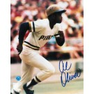 "Al Oliver Autographed ""Running to First Base"" Pittsburgh Pirates 8"" x 10"" Photo"