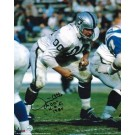 """Jim Otto Oakland Raiders Autographed 8"""" x 10"""" Unframed Photograph Inscribed with """"HOF 1980"""""""