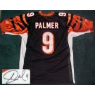 Carson Palmer Cincinnati Bengals Autographed Reebok NFL Football Jersey (Black) by