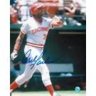 "Dave Parker Autographed Cincinnati Reds 8"" x 10"" Photo"