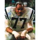"""Jim Parker Baltimore Colts Autographed 8"""" x 10"""" Unframed Photograph Inscribed with """"HOF 73"""""""