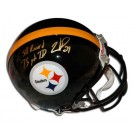 Willie Parker Autographed Pittsburgh Steelers Riddell Pro Line Helmet inscribed with... by