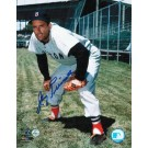 """Jimmy Piersall Autographed Boston Red Sox 8"""" x 10"""" Photo"""