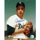 """Johnny Podres Autographed """"From the Stretch"""" Brooklyn Dodgers 8"""" x 10"""" Photo"""