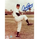 """Johnny Podres Brooklyn Dodgers Autographed 8"""" x 10"""" Photograph Inscribed with """"55 WS MVP"""" (Unframed)"""