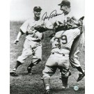 """Johnny Podres Brooklyn Dodgers Autographed Black & White 8"""" x 10"""" Unframed Photograph"""