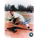 """Johnny Podres Brooklyn Dodgers Autographed 8"""" x 10"""" Unframed Photograph Inscribed with """"55 WS MVP"""""""
