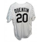 Carlos Quentin Chicago White Sox Autographed Majestic MLB Baseball Jersey (White) by
