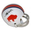 Andre Reed Buffalo Bills Autographed Throwback Mini Football Helmet