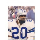"Mel Renfro Dallas Cowboys Autographed 8"" x 10"" Photograph Inscribed with ""HOF 96"" (Unframed)"