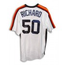 J.R. Richard Houston Astros Autographed White Majestic Jersey by